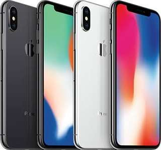 Ready Apple iPhone X 64GB Silver Or Gray Garansi Internasional