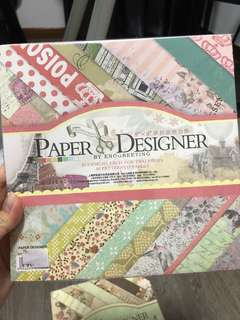 "8"" x 8"" patterned papers (40 pieces)"
