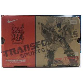 Transformers Takara Sports Label Nike Free 7.0 Ultra Magnus