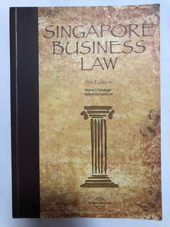 Singapore Business Law Textbook