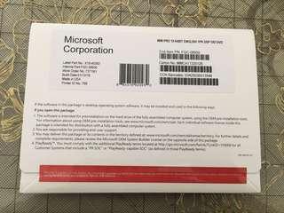 Microsoft Windows 10 Professional OEM(with DVD)