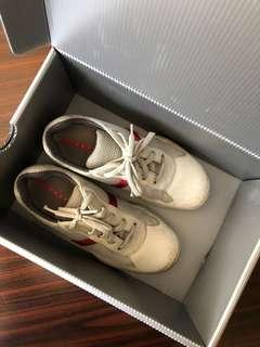 Genuine Prada baby shoe