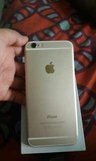 Iphone 6 16gb gold mati total