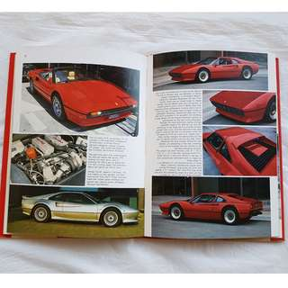 Rare Ferrari Book in Hardcover, The Complete Guide to the Ferrari 308 series, Limited Edition, Luxury Sports Car