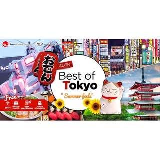 """BEST OF TOKYO """"SUMMER FEELS"""" 4D3N 🇯🇵"""