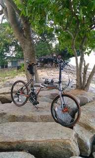 Trinx Ka2024d folding bike