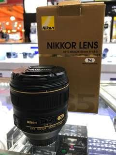 Nikon 85mm F1.4G AFS Lens