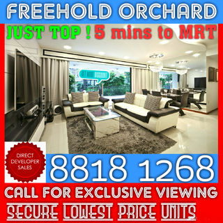 BEST VALUE FREEHOLD ORCHARD CONDO !! Already TOP ! RARE Freehold Orchard Condo For SALE ! HURRY !