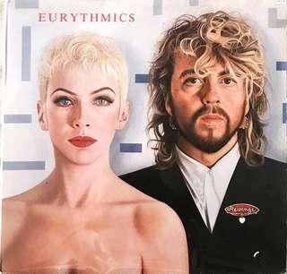 Eurythmic - 1986 Revenge Vinyl LP record (Japan pressing)