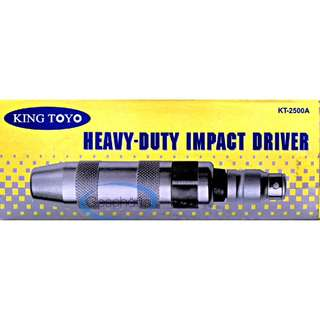King Toyo Heavy Duty Impact Driver Set