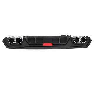 honda civic fc rear bumper diffuser