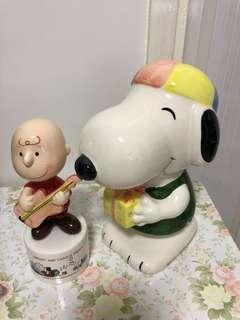 Snoopy錢箱