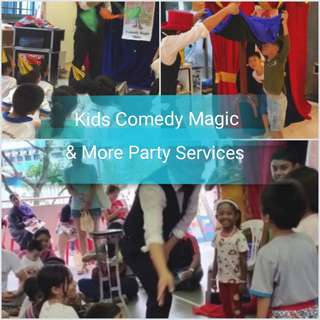 Magic Shows & Other Party Services