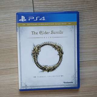 [EXCELLENT CONDITION] The Elder Scrolls Online for PS4