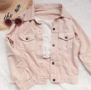 Peach Basic Jacket Jeans