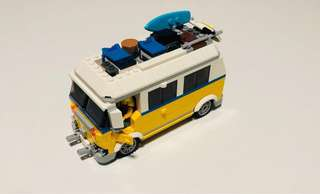 Lego Surfer Van set 31079