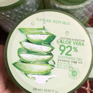 nature republic soothing gel aloevera