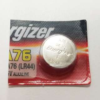 A76(LR44) 1.5v 鈕扣電池 Button Cell 勁量 Energizer