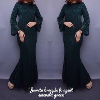 👚Juwita Brocade lace 👚   🌷Material :Premium French lace  🌹 Size : S/M & L/XL