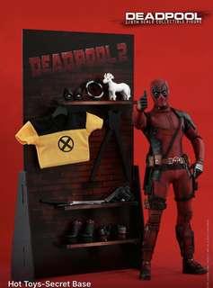 Hottoys 第二日15/5(14:12早單)Deadpool 死侍2 mms490 hot toys