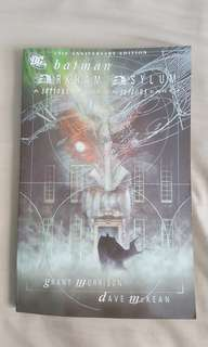 Batman arkham asylum graphic novel for sale