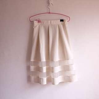 ApartmentEight Tulle and Neoprene Skirt