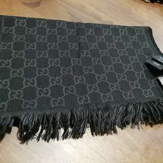 Authentic Bnwt Gucci GG Reversible Scarf