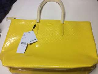 Brand New with Tag Authentic LACOSTE Tote Bag