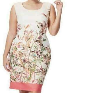 🌸Plus size floral dress   💰400  🌸 spandex material   🌸 freesize ( fits L-XXL )  🌸 one color only *m.a