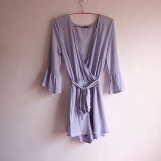 Cotton On Tie-Knot Jumpsuit in Lavender