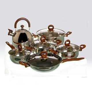 Wajan panci penggorengan teko kettle airlux 8012