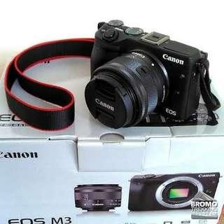 Canon M3 Harga Murah bisa Di Cicil Juga