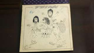 WHO . by numbers. Vinyl record