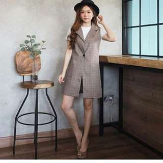 Vest + Short Pants Set (Code 1616)