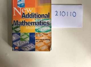 Cambridge IGCSE Additional Mathematics Textbook
