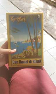 Novel terjemahan Dan Damai di Bumi! - karya Karl May