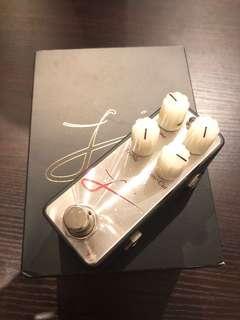 Leqtique L'Red handcraft boutique pedal