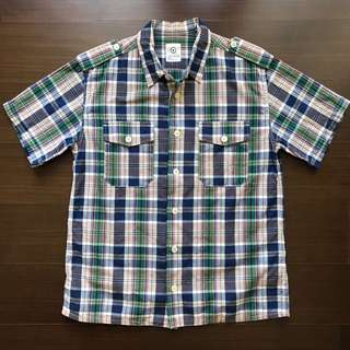 Visvim Vietnam Shirt 格紋襯衫 黃金尺寸M號 陳冠希 黑澀會著用款 可交流