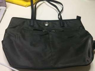 Used Authentic MK Michael Kors Black Tote Bag