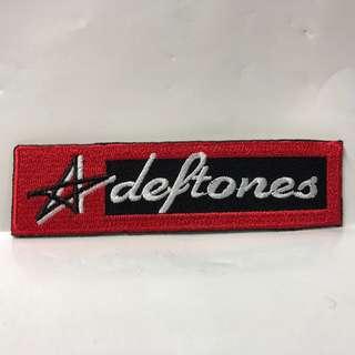 Deftones - Star Logo Rectangle Woven Patch