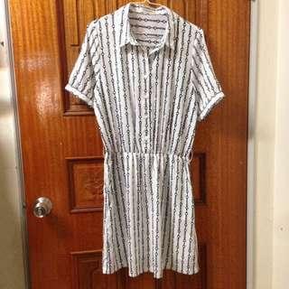 🚚 降價↘️↘️韓國製收腰洋裝