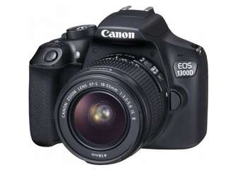 Canon EOS 1300D with 18-55mm f3.5-5.6 IS II