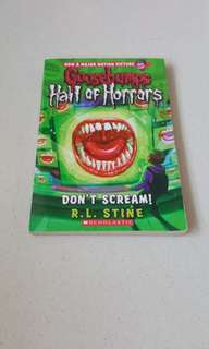Goosebumps half of horrors