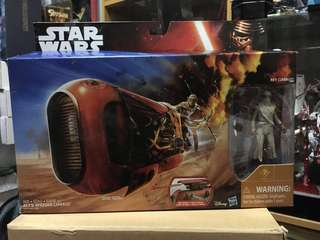 Star wars the force awakens Rey's Speeder (Jakku)
