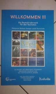 Willkommen !!! - Buku pelajaran bahasa Jerman untuk Pariwisata (KATALIS)