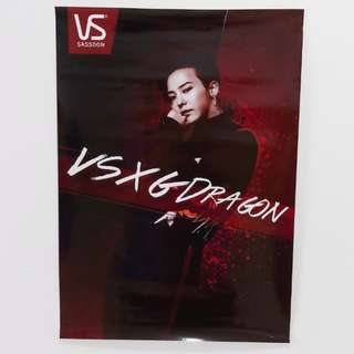 VS × G-DRAGON LIMITED POSTER