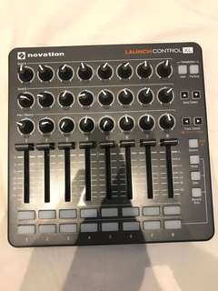 Novation Launch Control XL MIDI Controller With with 24 Knobs, 8 x 60mm Faders, 16 Soft Buttons