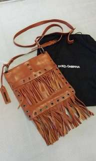 Dolce Gabbana leather bag