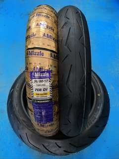 tayar mizzle 90/80/17 like supercorsa for fz y15 rs150 lc135
