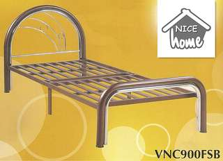 Katil besi single size - VNC900FSB